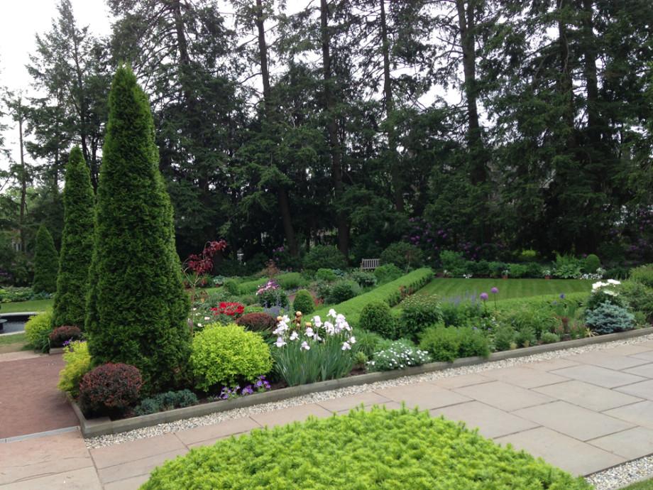 Princeton university prospect house garden ronda m for Garden design university